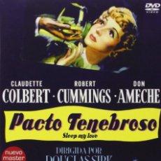 Cine: PACTO TENEBROSO - SLEEP, MY LOVE (NUEVO). Lote 148800822