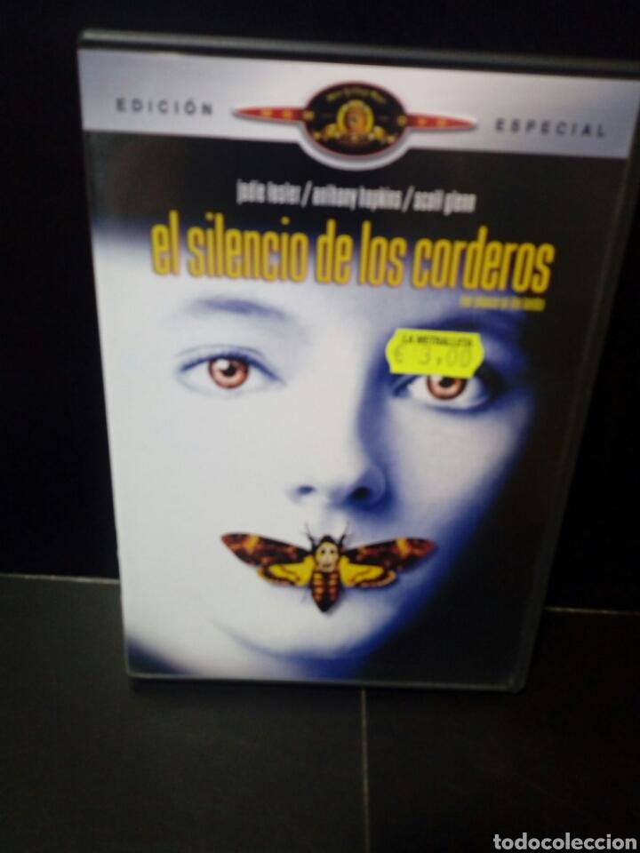 EL SILENCIO DE LOS CORDEROS DVD (Cine - Películas - DVD)