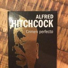 Cine: ALFRED HITCHCOCK-CRIMEN PERFECTO -DVD+ LIBRO EDITA WB -COLECCIONABLES. Lote 148825942