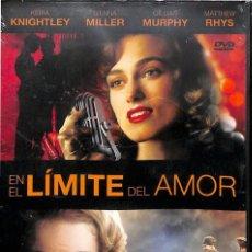 Cine: DVD EN EL LIMITE DEL AMOR - NUEVA, PRECINTADA. Lote 148852770