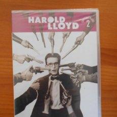 Cine: DVD HAROLD LLOYD - CORTOMETRAJES 2 - NUEVA, PRECINTADA (2L). Lote 148898490