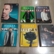 Cine: DVD. HOUSE. SERIE COMPLETA.. Lote 148952470