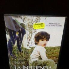 Cine: LA INFLUENCIA DVD. Lote 149303761