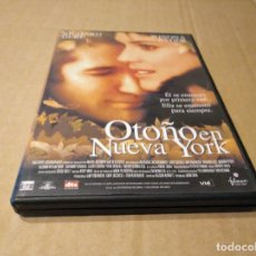 Cine: OTOÑO EN NUEVA YORK DVD USADO. Lote 149321578