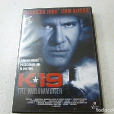 Cine: K 19-THE WIDOWMAKER- 2 DVD -HARRISON FORD-LIAM NEESON -N. Lote 149360566