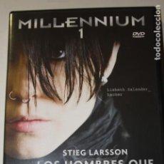 Cine: DVD TRILOGIA MILLENIUM. Lote 149508886