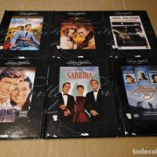 Cine: AUDREY HEPBURN DVD USADO 6 DVD+LIBRO. Lote 149604810