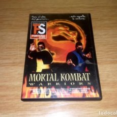 Cine: MORTAL KOMBAT - WARRIORS - DVD USADO.. Lote 149652306