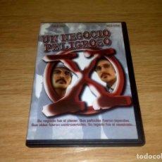 Cine: UN NEGOCIO PELIGROSO - DVD USADO.. Lote 149652442