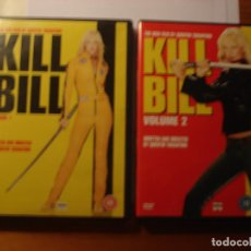 Cine: KILL BILL 1 Y 2 TARANTINO DVD VERSIÓN EN INGLÉS CON SUBTÍTULOS EN INGLÉS. Lote 149671318