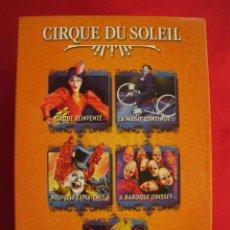 Cine: CIRQUE DU SOLEIL - PACK 5 DVDS.. Lote 149749222
