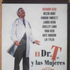Cine: TODODVD: PRECINTADO. EL DR. T. Y LAS MUJERES ROBERT ALTMAN / RICHARD GERE. Lote 149765842