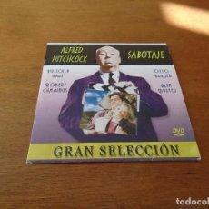Cine: DVD CINE GRAN SELECCIÓN EN DVD ALFRED HITCHCOCK: SABOTAJE. Lote 149766914