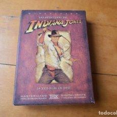 Cine: TRILOGÍA LAS AVENTURAS DE INDIANA JONES EN DVD - PACK 4 DVD´S. Lote 149849102