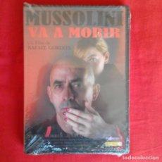 Cine: MUSSOLINI VA A MORIR. RAFAEL GORDON MIGUEL TORRES JULIA QUINTANA (PRECINTADA). Lote 149930302