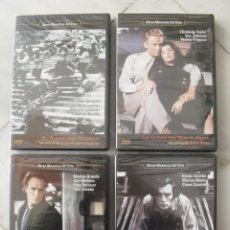 Cine: LOTE DE 25 DVDS DE OBRAS MAESTRAS DEL CINE. PRECINTADAS.. Lote 150006754