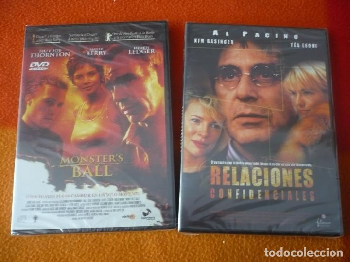 Cine: MONSTERS BALL ( THORTON BERRY LEDGER ) +RELACIONES CONFIDENCIALES ( PACINO ) DVD ¡PRECINTADAS! - Foto 1 - 150213194