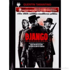 Cine: CINE. DJANGO DESENCADENADO. DVD + LIBRO - QUENTIN TARANTINO DESCATALOGADO!!! OFERTA!!!. Lote 150240154