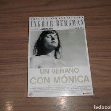 Cinema: UN VERANO CON MONICA EDICION ESPECIAL REMASTERIZADA INGMAR BERGMAN NUEVA PRECINTADA. Lote 257634795
