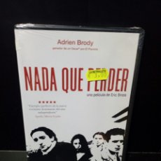 Cine: NADA QUE PERDER DVD. Lote 150360377