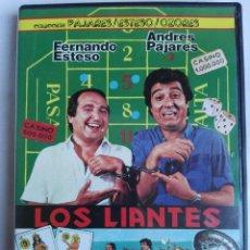 Cine: DVD - LOS LIANTES - FERNANDO ESTESO, ANDRES PAJARES, MARIANO OZORES. Lote 150366070