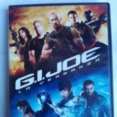 Cine: DVD - GI JOE LA VENGANZA - DWAYNE THE ROCK JOHNSON, BRUCE WILLIS, RZA - ACCION, CIENCIA FICCION. Lote 150367526