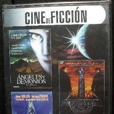 Cine: CINE DE FICCION 3 PELICULAS: ANGELES Y DEMONIOS, LEVIATHAN Y LOS INMORTALES *IMPECABLE*. Lote 150377474