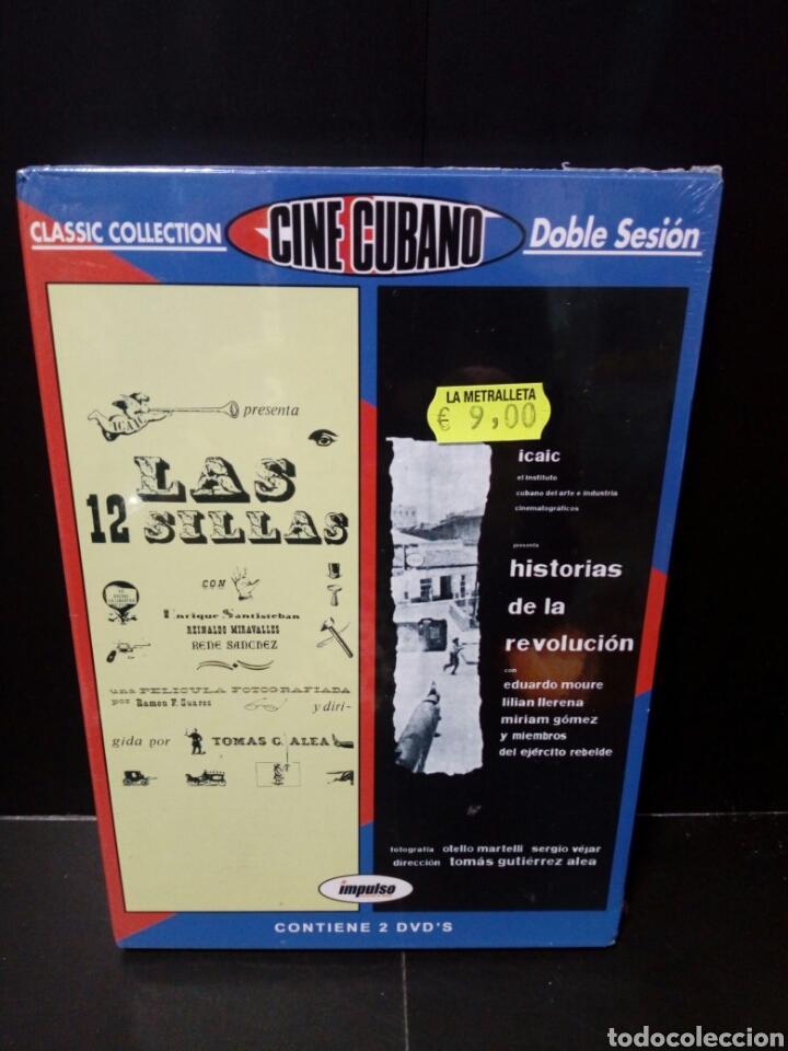 LAS 12 SILLAS- HISTORIAS DE LA REVOLUCIÓN DVD (Cine - Películas - DVD)