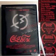Cine: CUBA LIBRE DVD PELÍCULA ¿ COMEDIA ?- RAI GARCÍA JOSÉ LUIS LÓPEZ VÁZQUEZ MIRÓ CACO SENANTE GURRUCHAGA. Lote 150588254