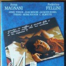 Cine: EL AMOR (L'AMORE, ROBERTO ROSSELLINI, 1948) CON ANNA MAGNANI Y FELLINI - DVD. Lote 148330122