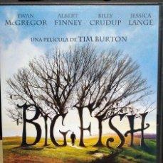 Cine: BIG FISH (TIM BURTON) DVD. Lote 148348142