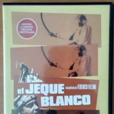 Cine: EL JEQUE BLANCO (FEDERICO FELLINI) DVD. Lote 148420174