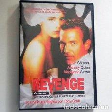 Cine: REVENGE ( VENGANZA )- DVD PELÍCULA SUSPENSE - KEVIN COSTNER MADELEINE STOWE ANTHONY QUINN TONY SCOTT. Lote 150677246