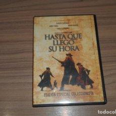 Cine: HASTA QUE LLEGO SU HORA EDICION ESPECIAL 2 DVD DE SERGIO LEONE HENRY FONDA. Lote 150748874