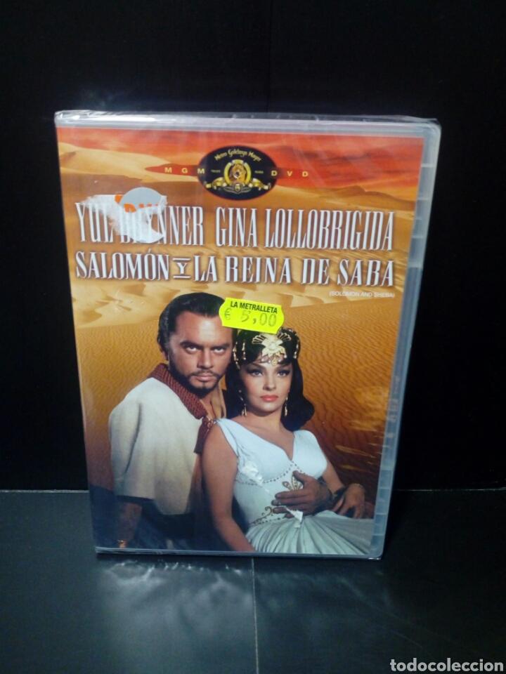 SALOMÓN Y LA REINA DE SABA DVD (Cine - Películas - DVD)