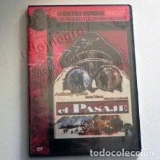 Cine: EL PASAJE - DVD PRECINTADO - PELÍCULA II GUERRA MUNDIAL ANTHONY QUINN - JAMES MASON MALCOLM MCDOWELL. Lote 150792190