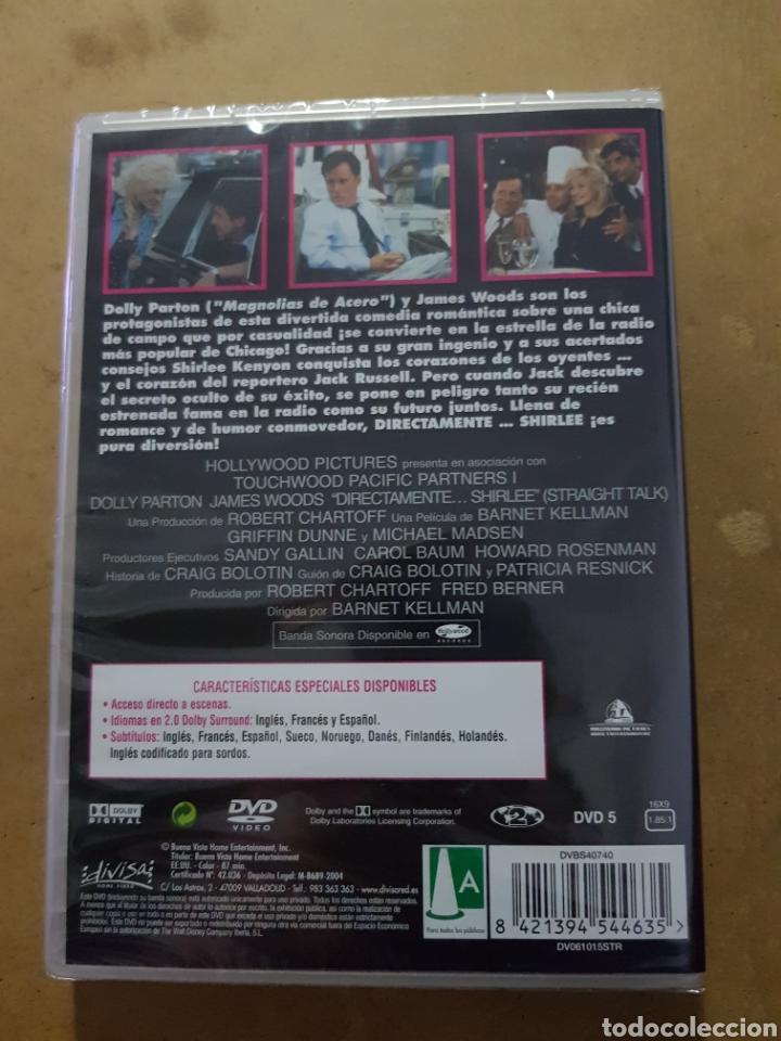 Cinema: ( DIVISA) DIRECTAMENTE SHIRLEE - DVD NUEVO PRECINTADO - Foto 2 - 150847041