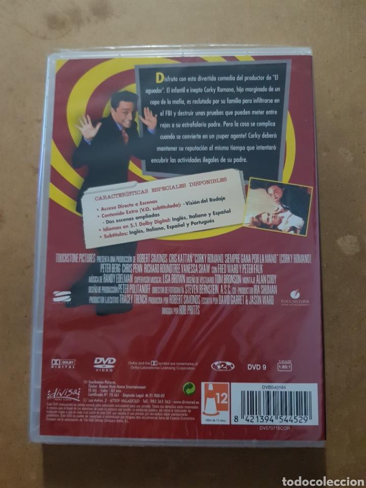 Cine: ( DIVISA) CORKY ROMANO - DVD NUEVO PRECINTADO - Foto 2 - 150847241