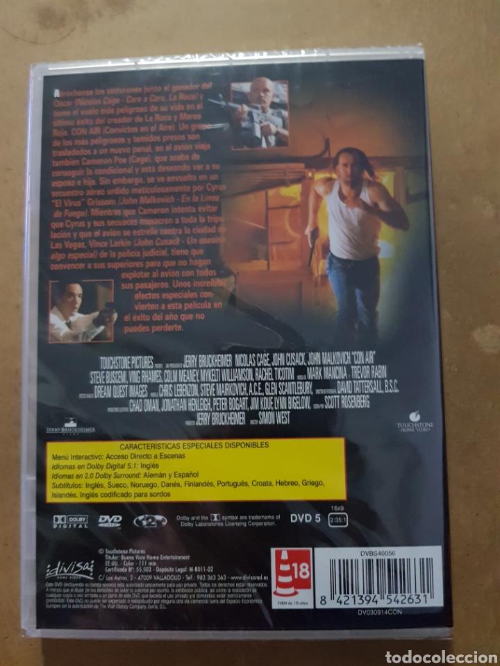 Cine: ( DIVISA) CON AIR - DVD NUEVO PRECINTADO - Foto 2 - 150847297