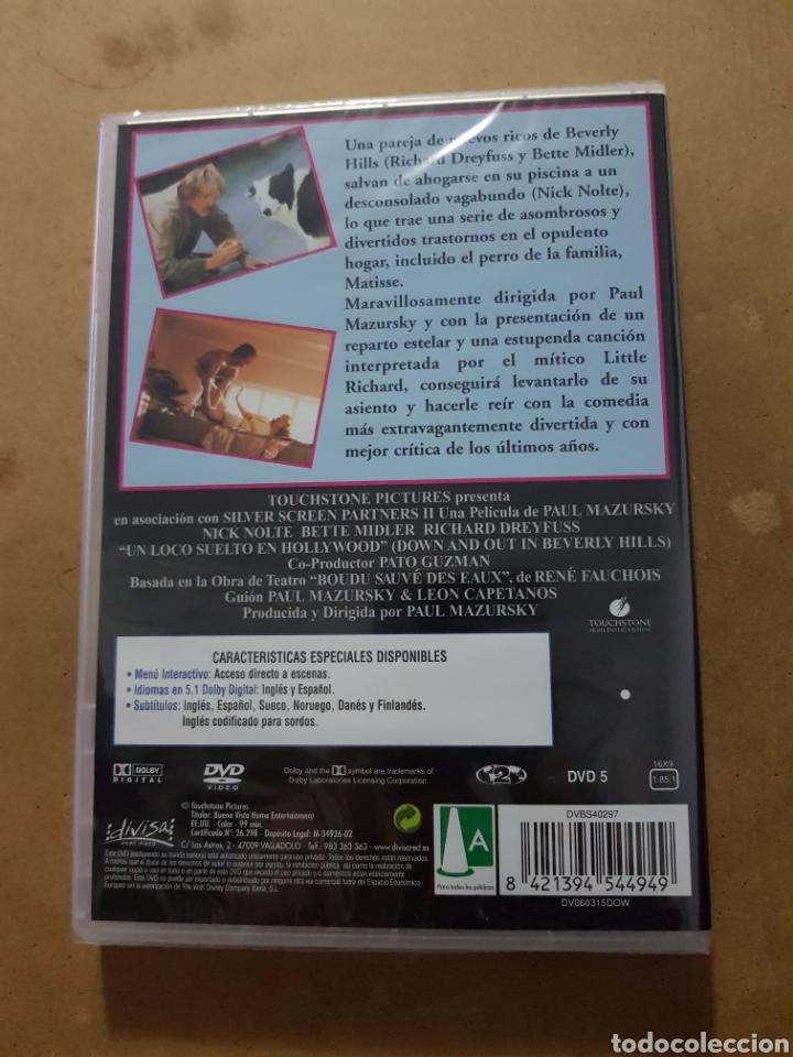 Cinema: ( DIVISA) UN LOCO SUELTO EN HOLLYWOOD - DVD NUEVO PRECINTADO - Foto 2 - 150847354