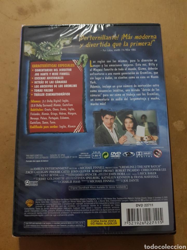 Cine: (WARNER ) GREMLINS 2 - DVD NUEVO PRECINTADO - Foto 2 - 150847430