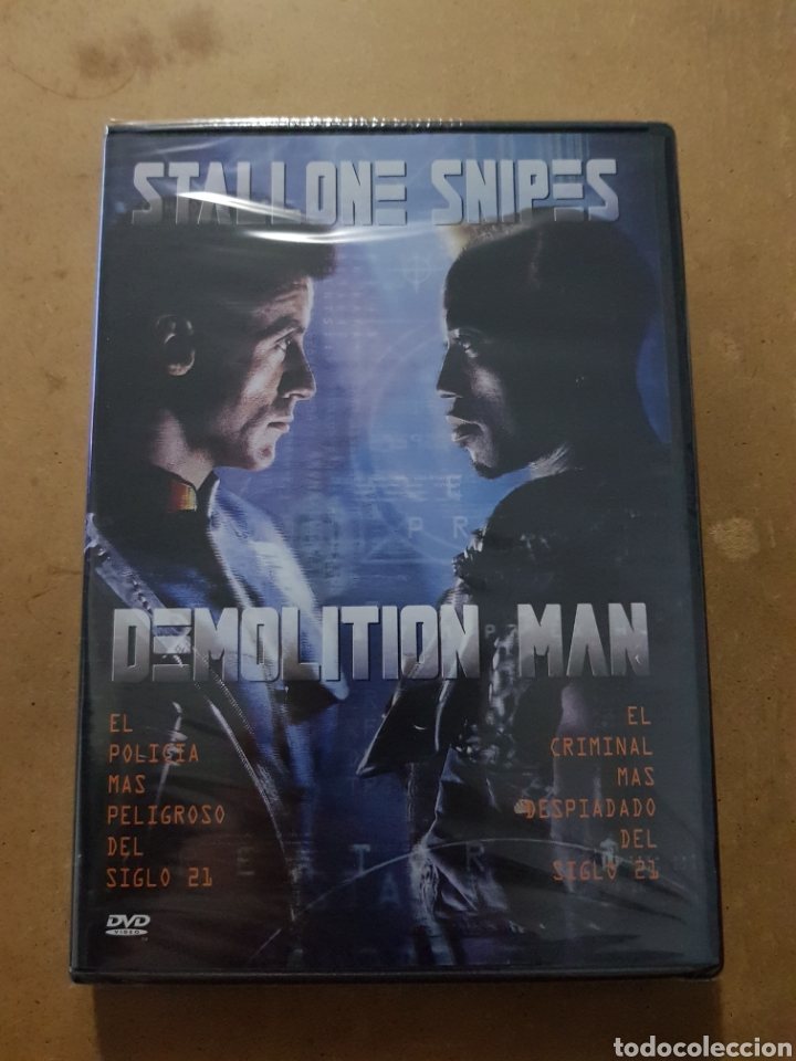 (WARNER ) DEMOLITION MAN - DVD NUEVO PRECINTADO (Cine - Películas - DVD)