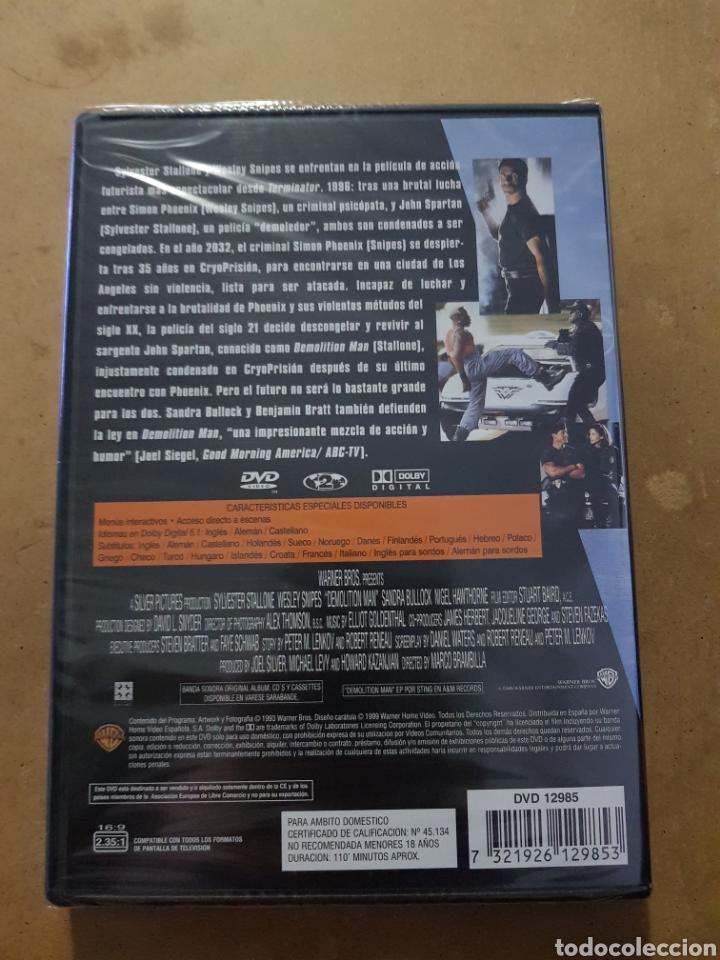 Cine: (WARNER ) DEMOLITION MAN - DVD NUEVO PRECINTADO - Foto 2 - 150847468