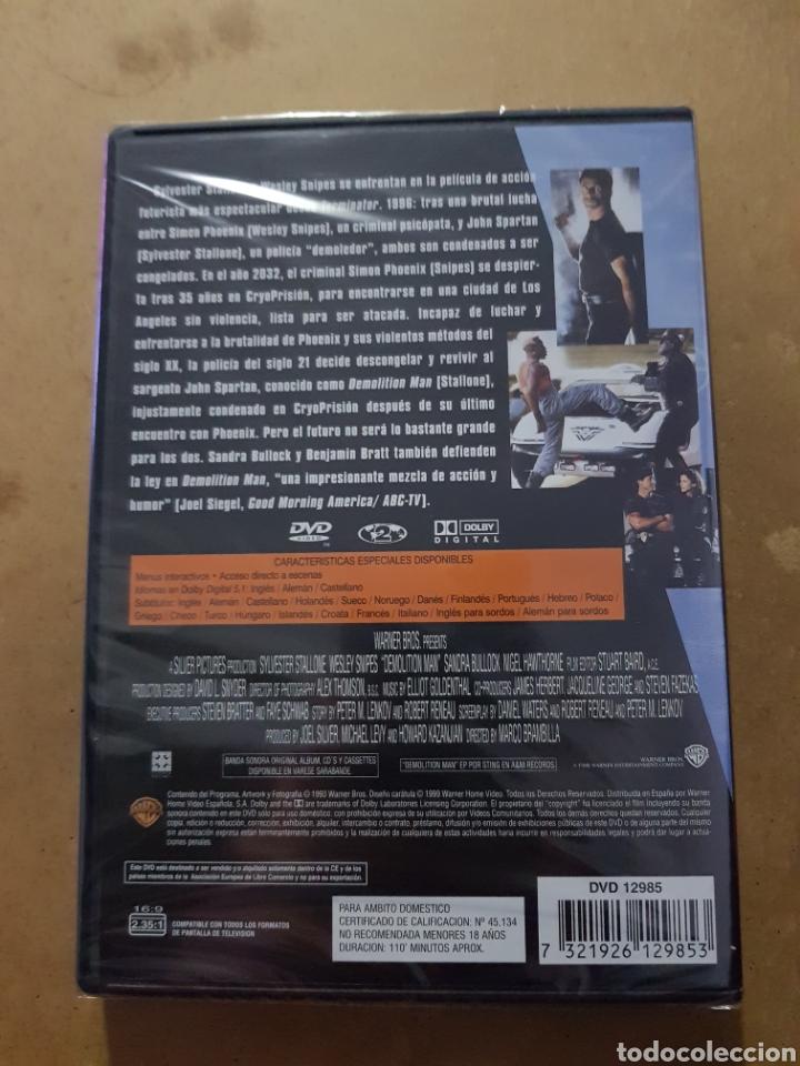 Cine: (WARNER ) DEMOLITION MAN - DVD NUEVO PRECINTADO - Foto 2 - 150847480