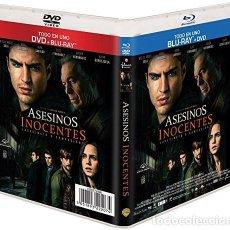 Cine: ASESINOS INOCENTES (BLU-RAY + DVD). Lote 150866465