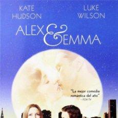 Cine: ALEX & EMMA. Lote 150883333