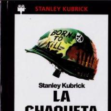 Cine: LA CHAQUETA METÁLICA (FULL METAL JACKET) (ED. LIBRO). Lote 150885662