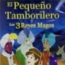 Cine: EL PEQUEÑO TAMBORILERO Y LOS 3 REYES MAGOS (THE LITTE DRUMMER BOY). Lote 160269324