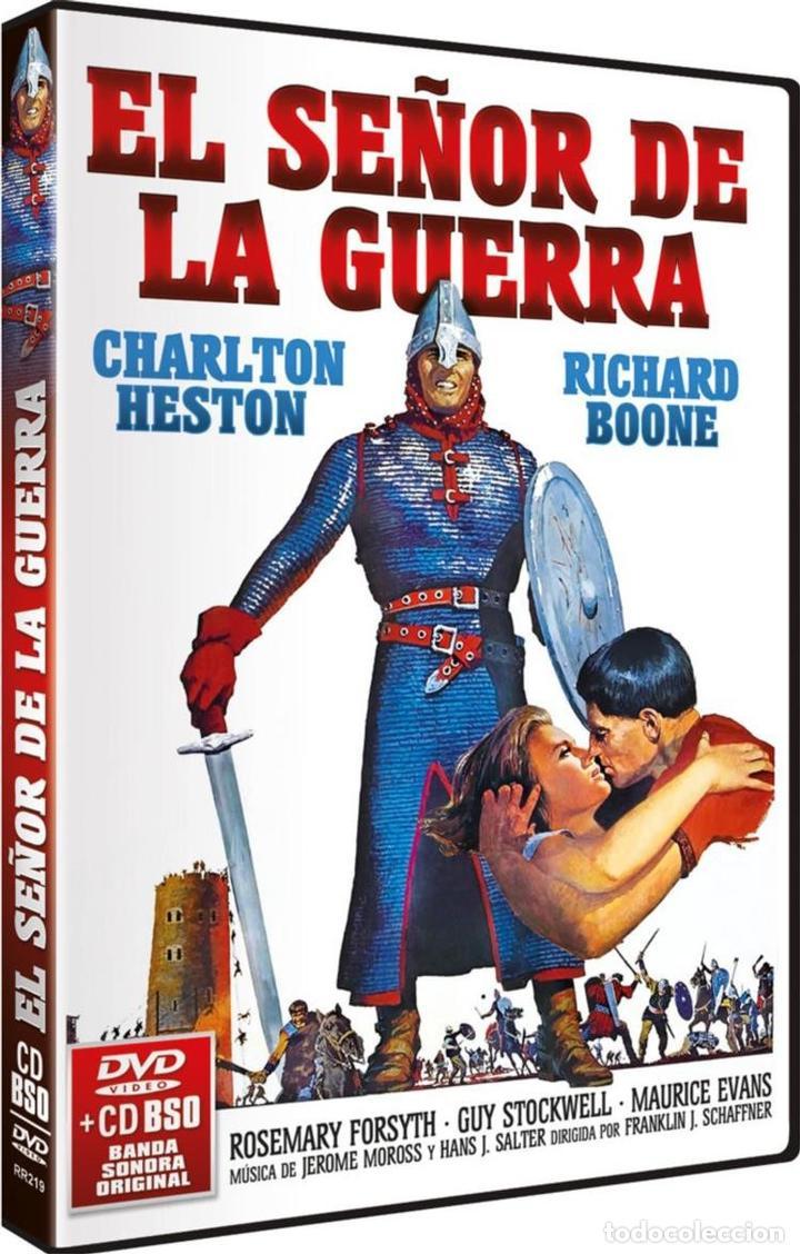 EL SEÑOR DE LA GUERRA + B.S.O. (THE WAR LORD) (Cine - Películas - DVD)