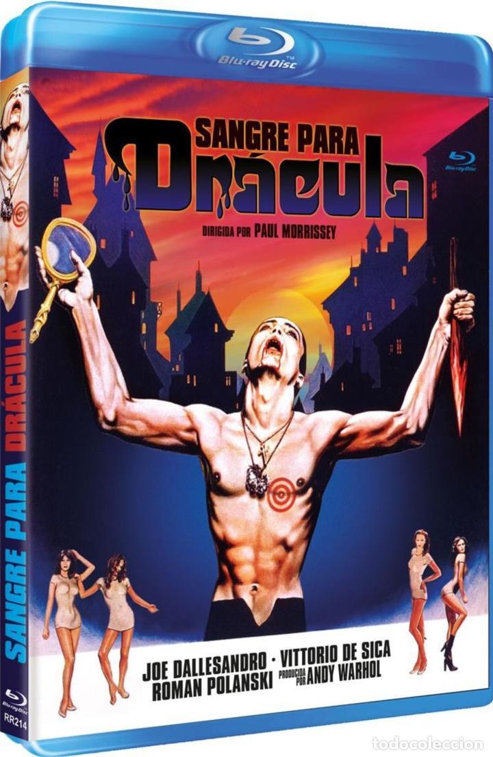 SANGRE PARA DRÁCULA (BLU-RAY) (BD-R) (BLOOD FOR DRACULA) (Cine - Películas - DVD)